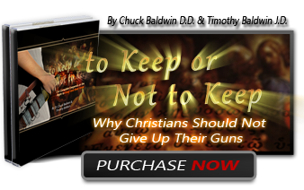To Keep or Not to Keep Why Christians Should Not Give Up Their Guns Order Presale Books Here